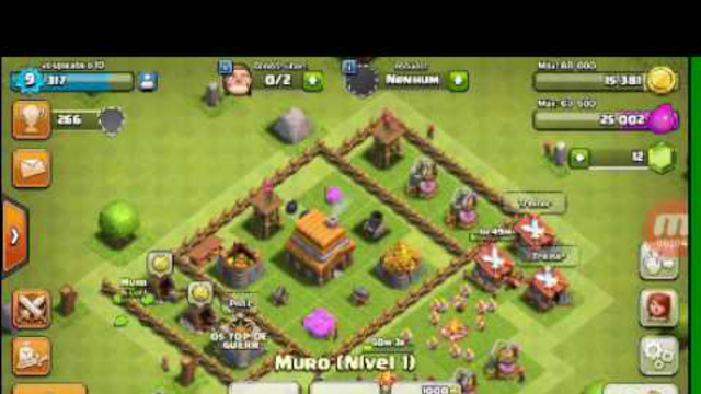 DOANDO CONTA DO CLASH OF CLANS!!!!!(#4)