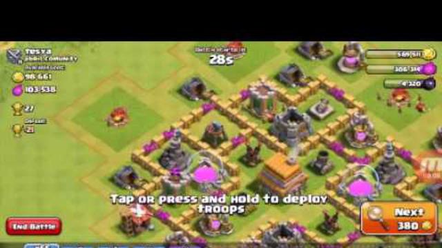 Clash of clans atac ep.4