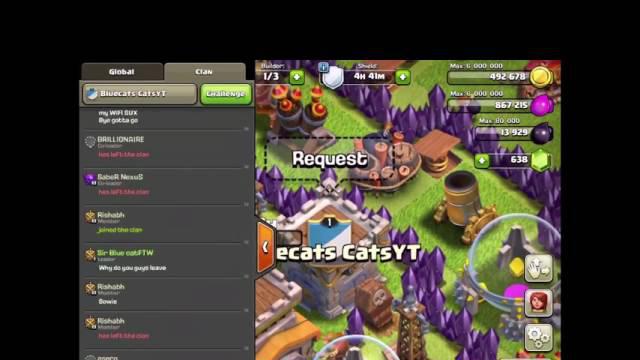 Clash of clans/the team clan4teh catz