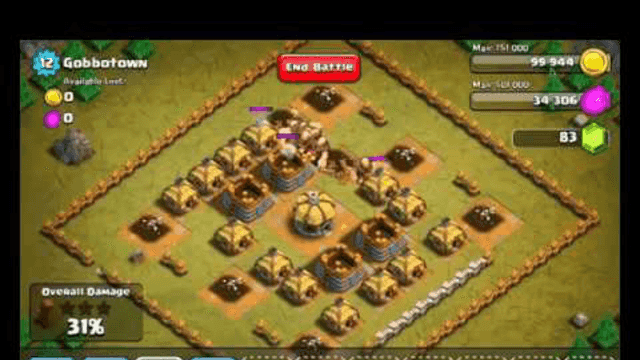 Clash of Clans Level 12   Gobbotown