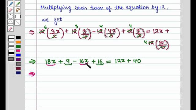Final Maths 9 COC LIN EQ 2V SE10