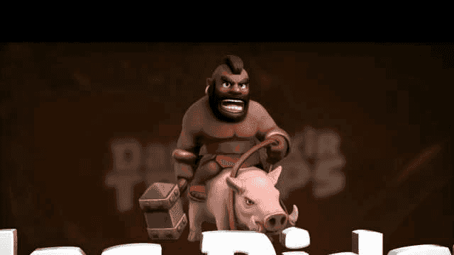 Clash of Clans: The Hog Rider