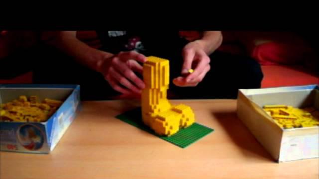 Lego-Cock timelapse