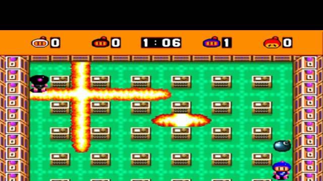 Super Bomberman - Bomba que voa - Virus - Audio um coco!!