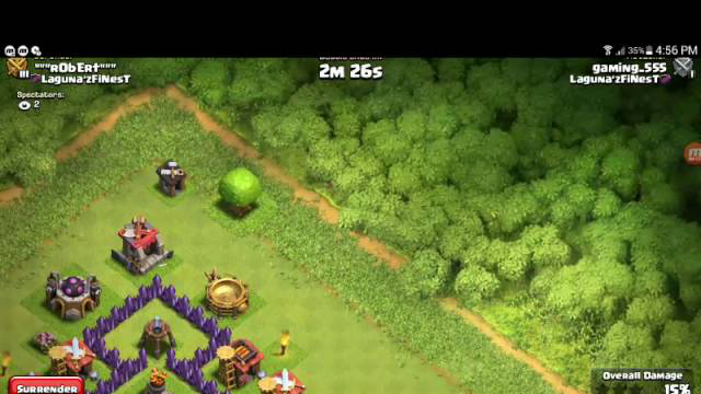 Clash of clans game play part 2