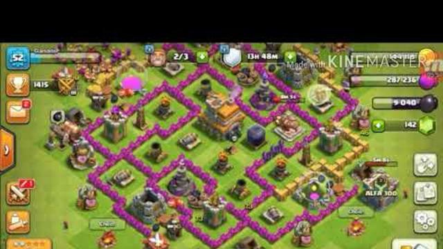 clash of clans novo layout de 039 039 guerra 039 039 para