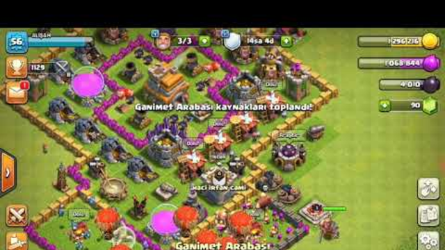 TH9 War Attacks !! CLASH OF CLANS !! WITCH SLAP