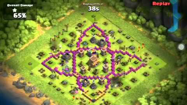 Test def - clash of clans