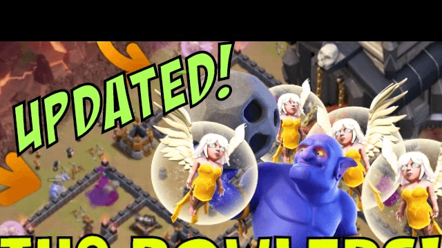 [UPDATED] TH9 BOWLER WALK Strategy! Clash Of Clans | Queen Walk Bowler Walk Combo!