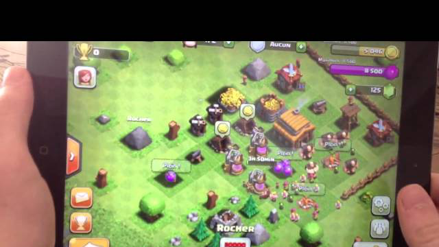 Test: Clash Of Clans (iPodTouch/iPhone/iPad)