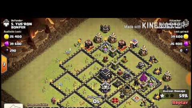 Base Coc Th 9 Anti Lavalon 11