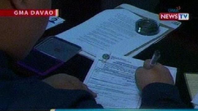 BP: Mga nag-file ng COC sa Davao at Misamis Oriental ngayong araw, kakaunti lang