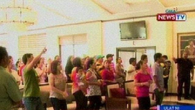 BT: Kampo ni Pacman, nagsagawa ng praise and worship meeting bago maghain ng COC sa Comelec
