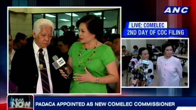 COMELEC Chairman Brillantes on Day 2 of COC Filing