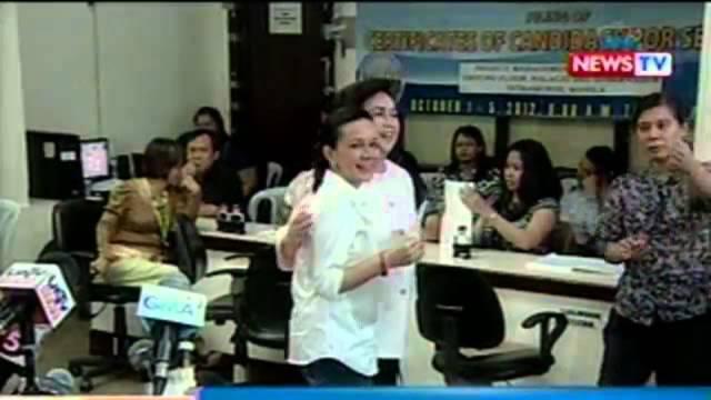 NTG: Estrada at Moreno, naghain ng COC sa pagka-Mayor at Vice Mayor ng Manila