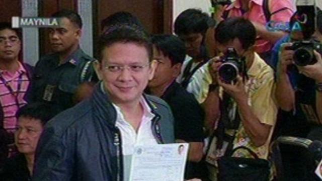 Saksi: Ilan pang kakandidato sa Senado at mga lokal na posisyon, naghain ng kanilang COC