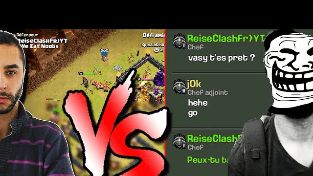 REISE VS JOK CHALLENGE Clash of Clans