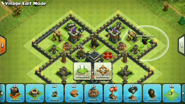 clash of clans th9 defence base