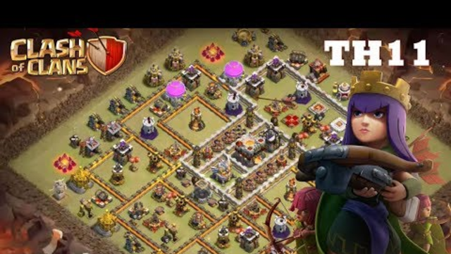 New Best TH11 WAR Base 2019!! COC Town Hall 11(TH11) Anti
