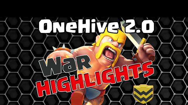 OneHive 2.0 VS 6 Schlitzes WAR Recap | Clash of Clans