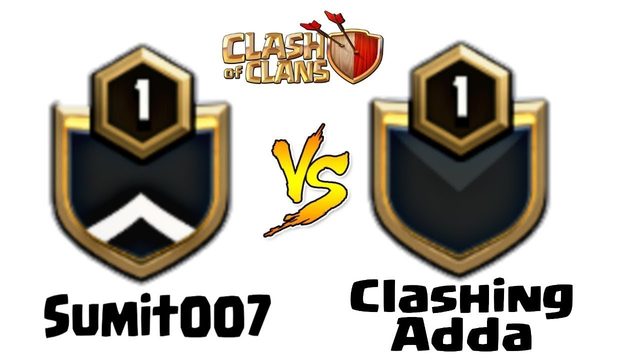 Clashing Adda vs Sumit 007 | Live Clan War clash of clans - coc