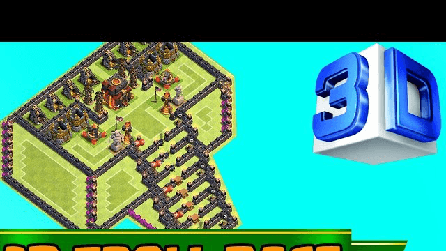 NEW CLASH OF CLANS | BEST 3D TROLL BASE! A MUST WATCH |