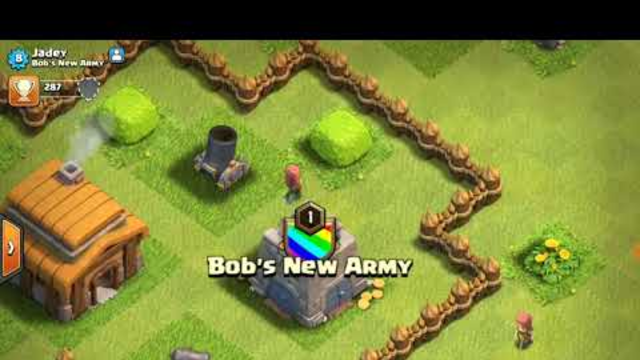 Clash Of Clans my sister's village and TH3 attack strategy ft. my sister part 2!