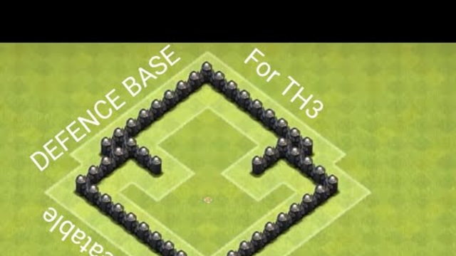 Unbeatable Base For TH3   Clash Of Clans   B4U Gaming  