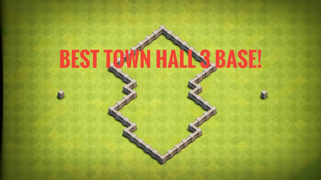BEST *TOWN HALL 3* BASE (CLASH OF CLANS) (2019)