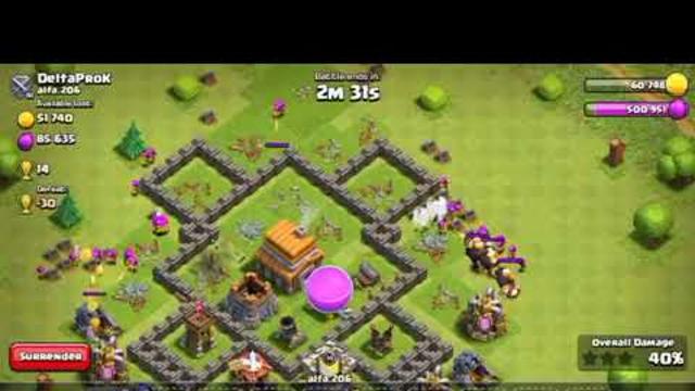 Th5 Clash of Clans 130 level three Archers attack