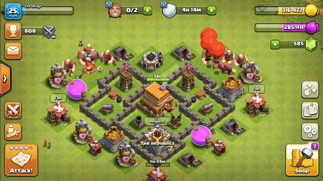 40 seconds to town hall 5 | Clash Of Clans