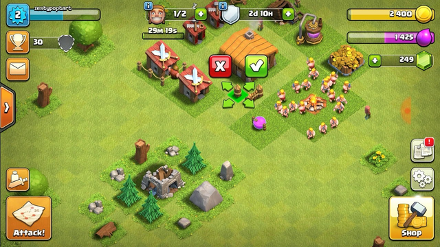 Clash of clans part 2 town hall 2