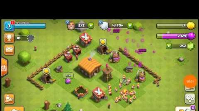 Clash of clans Th2 let's play ep 1 upgrade progress