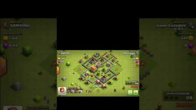 attack on SAMSUNG | Clash Of Clans | th5 attack |