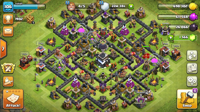 Best attack in clash of clans.