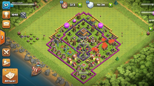 Rushed Th8 Clash Of Clans Stream