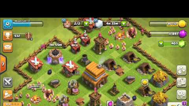 Atacando en Clash of clans