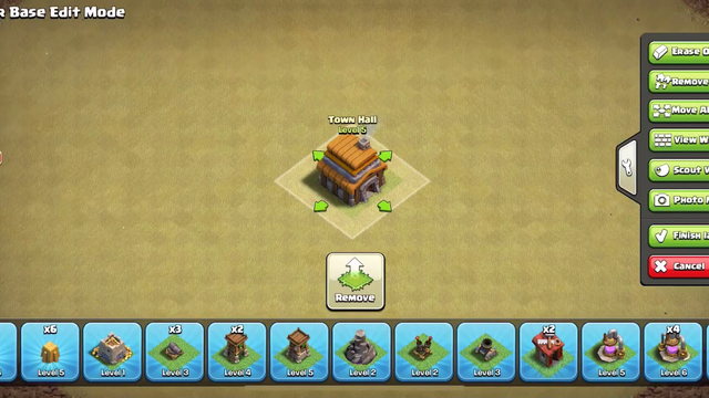 How to Build a base for town hall 5 | clash of clans