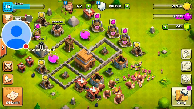 My new account in coc #3 || Clash of Clans