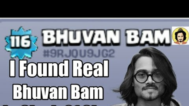I FOUND REAL BHUVAN BAM IN CLASH OF CLANS| #ClashWaliFeeling|COC- INDIA