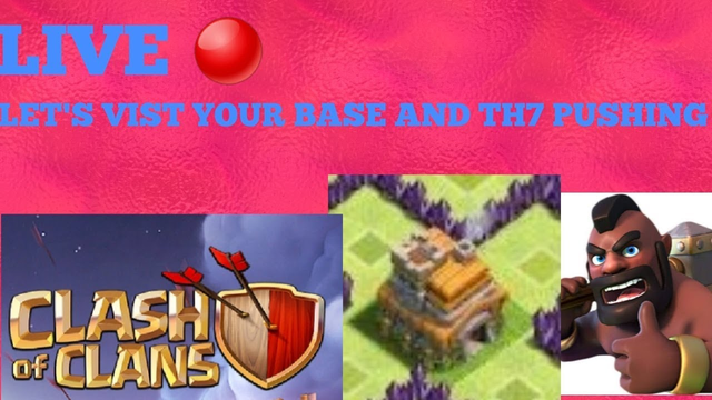 LET'S VIST YOUR BASE AND LIVE ATTACKS CLASH OF CLANS