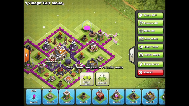 How To Make A TH7 Base TROPHY/HYBRID BASE 2019 Clash Of Clans
