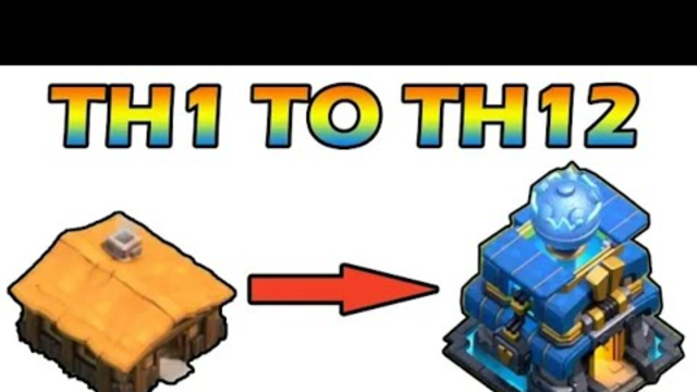 Th 1 - Th 12 All update in just 4 Minute | clash of clans
