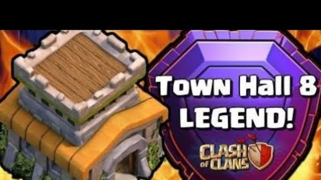 Th8 push to legends!! - Clash Of Clans