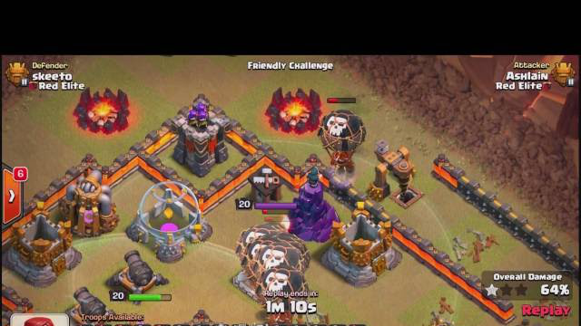 Clash Of Clans | TH11 PENTA LALOON 3 STAR VS DONUT BASE (LVL 4 HOUNDS LVL 7 LOONS)