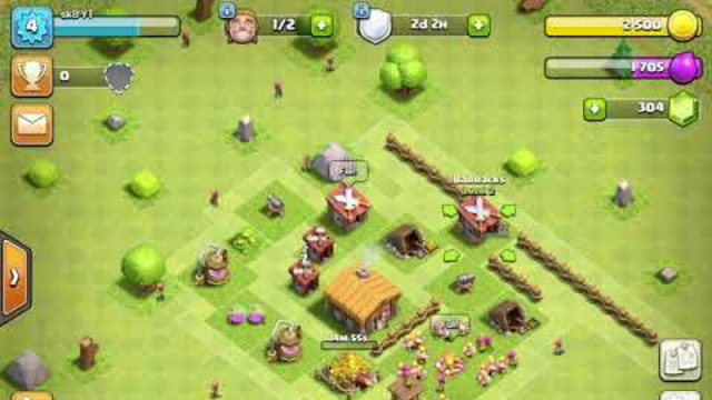 Clash of clans ep 3 townhall 2