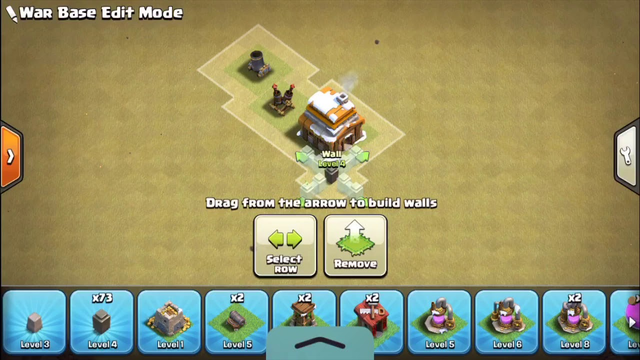 Best town hall 4 base ever (clash of clans)