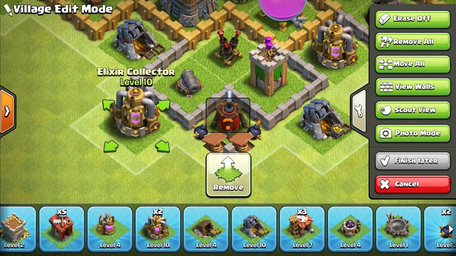 Clash of clans town hall 6 hybrid base