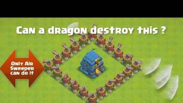 Epic Air Sweeper Formation | Clash of Clans