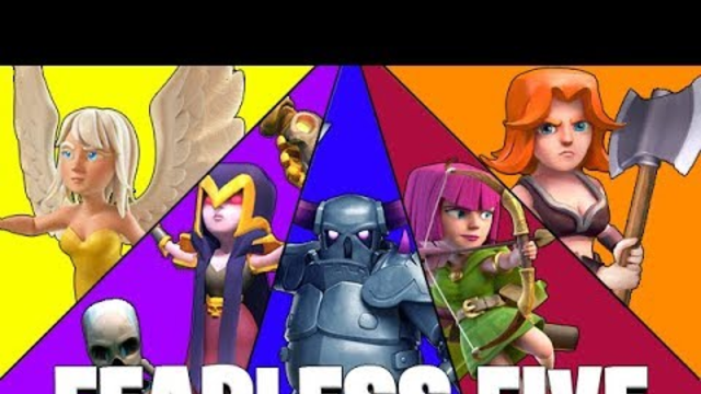 GETTING FREE STUFF FROM THE FEARLESS FIVE EVENT! - Clash of Clans